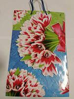 Подарочный бумажный пакет 25/37/8(артBV-067), 12 шт\пач