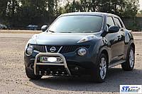 Защита переднего бампера (кенгурятник)  Nissan Juke (10-14), фото 1