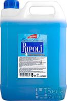 """Жидкое мыло на основе масла кокоса ТМ """"Ripoli"""" 5 кг голубое"""