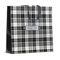 Небольшая женская хозяйственная сумка Скотч Стайл (40*40), 10 шт\пач