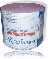 "Туалетная бумага цветная Кохавинка  ""Антисептичний"",  48шт\уп"