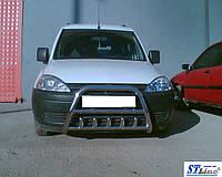 Защита переднего бампера (кенгурятник)  Opel Combo C (01-11)