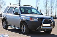 Защита переднего бампера (кенгурятник)  Land Rover Freelander 1998-2006, фото 1