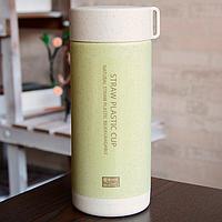 Бутылочка из биопластика (зеленая)