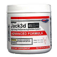 Предтреник JACK 3D ADVANCED FORMULA 230 г до 11/19года