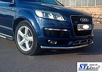 Кенгурятник Audi Q7 (05+) / ус одинарный , фото 1