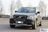 Кенгурятник  Volvo XC-90 (2008-13) - ус двойной, фото 1