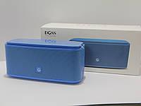 Колонка портативная Bluetooth DOSS SoundBox Blue премиум звук