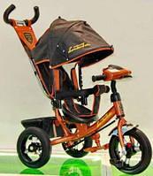 Велосипед трехколесный Azimut Air Lambortrike L2B ( Lamborghini)бронзовый надувные колеса с фарой