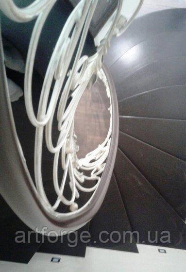 Ковані перила складної форми для сходів КЛ-377
