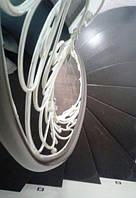 Кованые перила сложной формы для лестницы КЛ-377