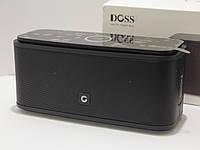 Колонка портативная Bluetooth DOSS SoundBox Black премиум звук
