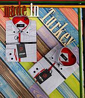 Рубашка школьная для мальчиков, хлопок, Турция, размеры от 2 до 15 лет