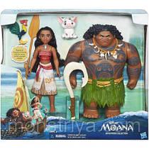 Набор из двух кукол МОАНА (Ваяна) и МАУИ- Moana