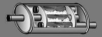 Резонатор выхлопной системы автомобиля