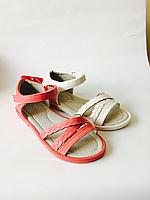 Детские босоножки на липучках для девочек оптом Размеры 30-35