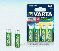 Аккумулятор пальчиковый Varta AA 2500 Ready 2 Use - 4шт