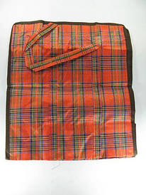 Хозяйственная сумка тканевая 44см 50см 25см на змейке (12 шт)