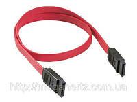 Кабель передачи данных Serial ATA 7-Pin Male to Male 50cm