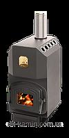 Отопительная печь Теплодар ТОП 300 (с чугунной дверцей)