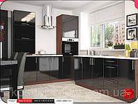 Кухня модульная MoDa черный лак  1900-2000 мм