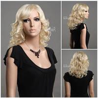 Парик блондинки волнистый 46 см