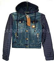 Женская джинсовая куртка с капюшоном VERONA (S-3XL) — купить по низким ценам оптом от производителя 7км