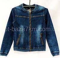 Женская джинсовая куртка на молнии VERONA (XS-2XL) — купить по низким ценам оптом от производителя 7км, фото 1