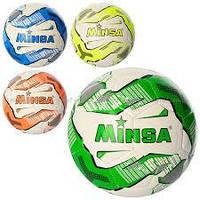 Мяч футбольный MS 1245 (30шт) размер5, TPU 4,3мм,400-420г,4цвета,в кульке