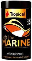 Корм для всех морских рыб Tropical Soft Line Marine S 100ml/60g