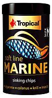 Корм для всех морских рыб Tropical Soft Line Marine M 67624 250ml/130g