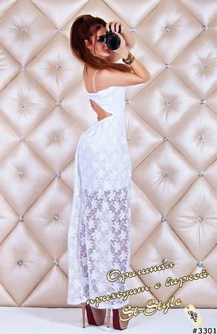 Платье ш653