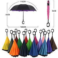 Зонт наоборот 90012