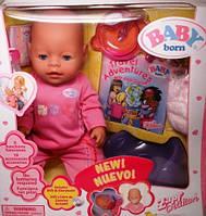 Копия Кукла беби борн (baby born), трикотажная одежда