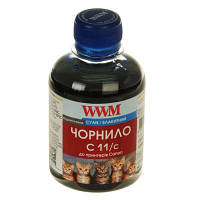 Чернила WWM для Canon CL-511С/CL-513С/CLI-521C 200г Cyan Водорастворимые (C11/C)