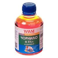 Чернила WWM для HP №177/85 200г Yellow Водорастворимые (H77/Y)