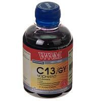 Чернила WWM для Canon CLI-426G/CLI-521G 200г Gray Водорастворимые (C13/GY) светостойкие