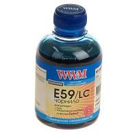 Чернила WWM для Epson Stylus Pro 7890/9890 200г Light Cyan Водорастворимые (E59/LC) светостойкие