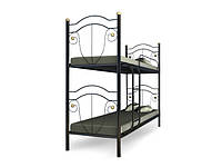 Подростковая кровать Металл-Мебель Двухъярусная кровать Диана 80х200