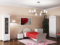 Мебельная системм Санти Мебель Белый спальный гарнитур Ассоль-3