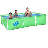 Детский каркасный бассейн Bestway 56222 B (Голубой), размер 300 х 201 х 66 см, фото 2