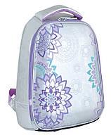 Ранец школьный каркасный  для девочки  YES Lace