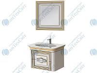 Коплект мебели BOTTICELLI Treviso 80 white (Т-80 white + ТМ-80)