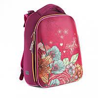 Ранец  школьный каркасный  для девочки  Choice Flowers