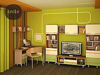 Модульная мебель Snite Комплект молодежной мебели Line: счастливые линии №3