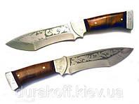 Туристический охотничий нож ручной работы Акула