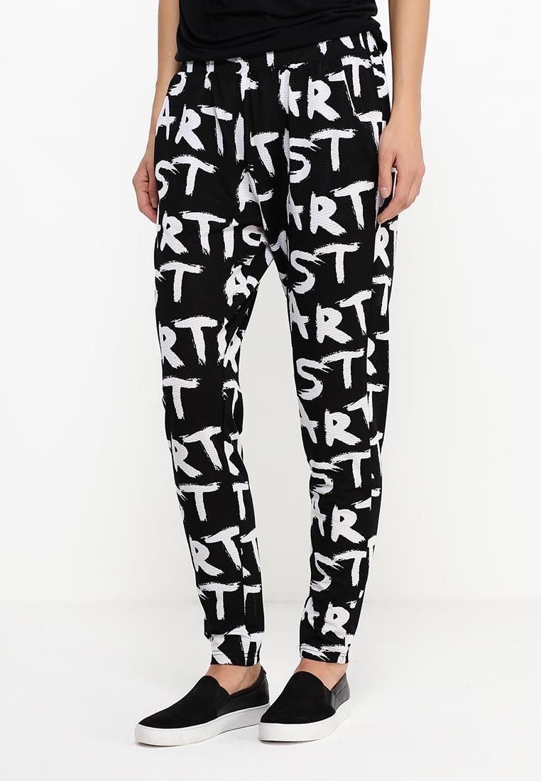 Женские брюки c высокой талией черного цвета Alegra 1 от Desires  в размер XS