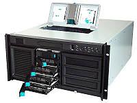 "БУ Корпус серверный 5U Intel SC5200, ATX, 429x633x218, 4x3.5"" HDD, без БП, black (KHD3H8RP650R)"