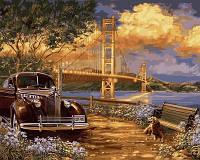Картина по цифрам Турбо Американская мечта худ. Дона Гельсингер (VP730) 40 х 50 см