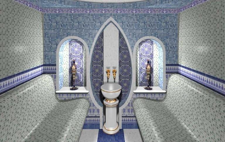 Теплый пол DEVI (ДЕВИ)  в саунах, хаммамах, банях, бассейнах